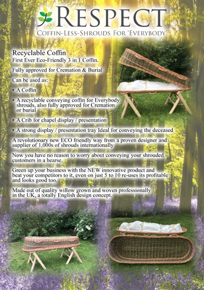 Recyclable Coffin