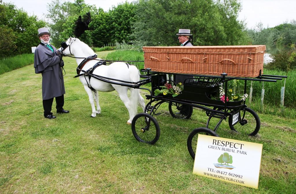 Respect green burials wicker coffin