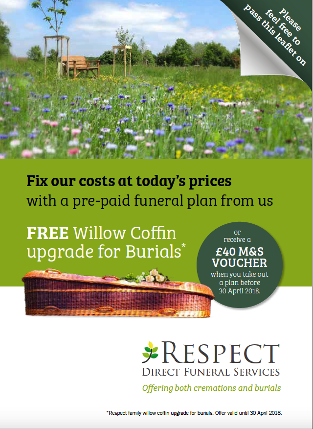 Our Pre-Paid Funeral Plans