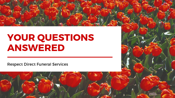 your questions answered about a funeral service
