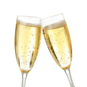 toasting to a loved one when coping with grief over Christmas